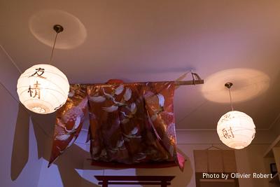 Kimono flottant